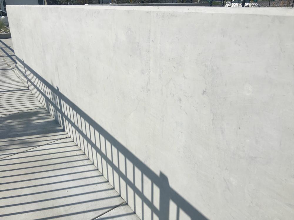 Retaining Wall Plastering